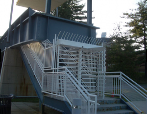Turnstiles are a high security feature that ensures the safety of your perimeter.