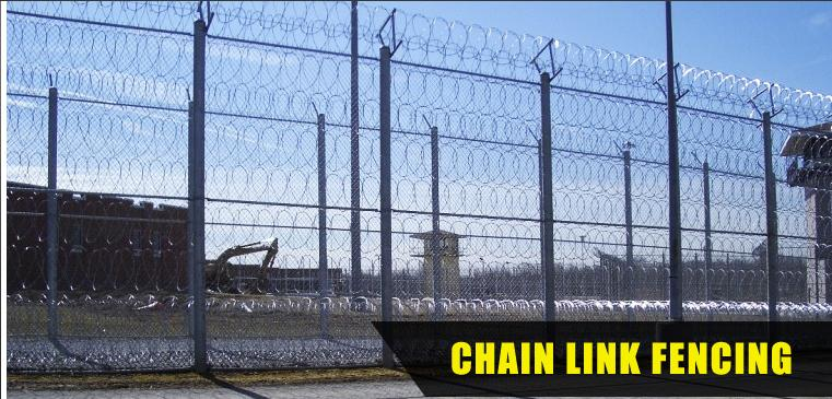 Need a high security fence fast get chain link