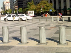Hydraulic Retractable Bollards