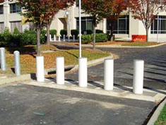 Retractable Bollard, Standard Covers